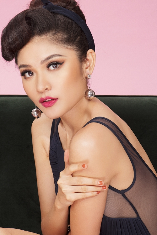 Á hậu ThùyDungquyến rũ trước thềm Hoa hậu Quốc tế 2017 - Ảnh 5.