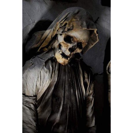 Bí mật những xác ướp trong hầm mộ Capuchin ở Italy - Ảnh 9.