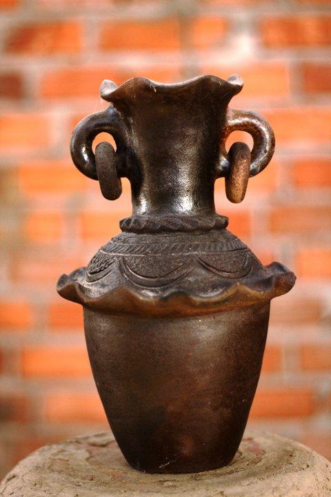 Độc đáo nghệ thuật làm gốm ở Bàu Trúc - Ảnh 10.