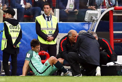 Ronaldo ghi bàn, Bồ Đào Nha chắc suất bán kết Confed Cup - Ảnh 5.