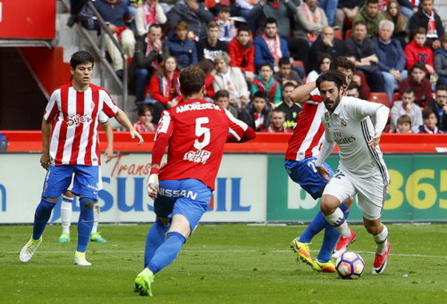 Isco lập cú đúp trong trận cho Real Madrid