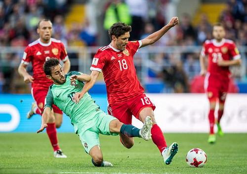 Ronaldo ghi bàn, Bồ Đào Nha chắc suất bán kết Confed Cup - Ảnh 3.