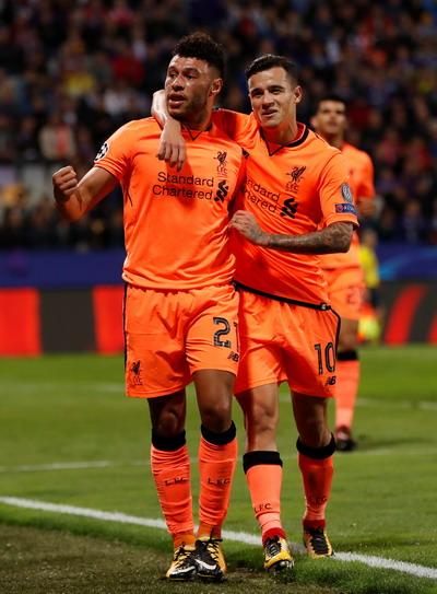 Liverpool vùi dập Maribor, lên ngôi đầu - Ảnh 4.