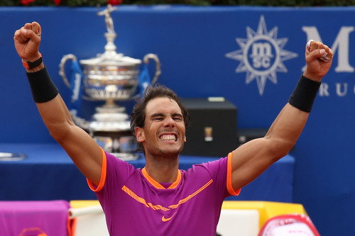 Nadal đăng quang lần thứ 10 tại Barcelona Open