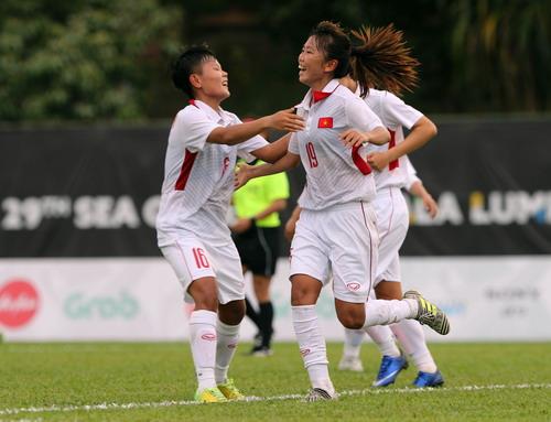 Nữ Việt Nam – Myanmar 3-1: Chiến thắng xứng đáng - Ảnh 15.