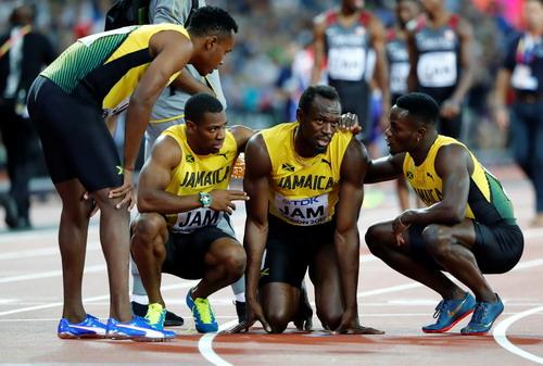 Vấp ngã ở đích đến, Usain Bolt cay đắng giã từ đường chạy - Ảnh 5.