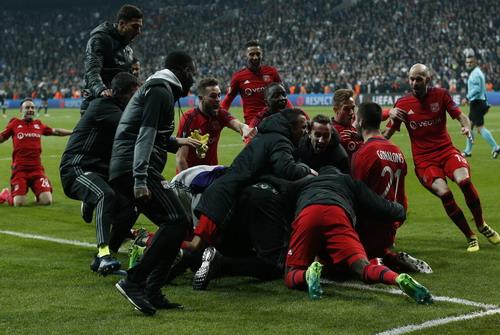 Lyon vui mừng giành vé vào bán kết