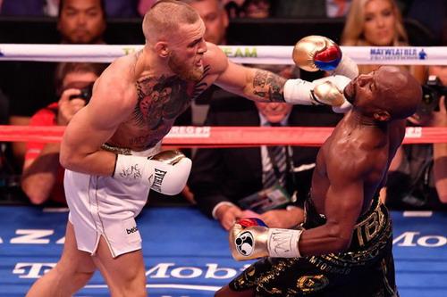 Mayweather hạ nốc-ao McGregor trận so găng tỉ đô - Ảnh 2.