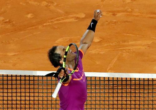 Nadal trên đường chinh phục danh hiệu thứ 10 ở Monte Carlo