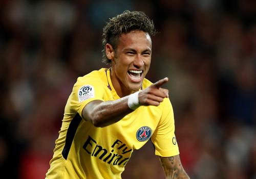 Neymar chào sân đẳng cấp, PSG đè bẹp Guingamp - Ảnh 4.