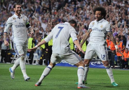 Real Madrid lần thứ 7 liên tiếp vào bán kết cúp châu Âu