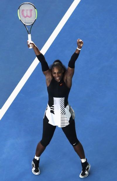 Serena vô địch Úc mở rộng 2017 khi có thai 8 tuần