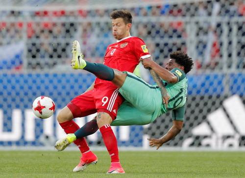 Ronaldo ghi bàn, Bồ Đào Nha chắc suất bán kết Confed Cup - Ảnh 4.