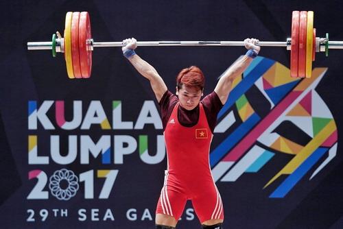 SEA Games ngày 28-8: Trịnh Văn Vinh giành HCV cử tạ, phá kỷ lục - Ảnh 2.