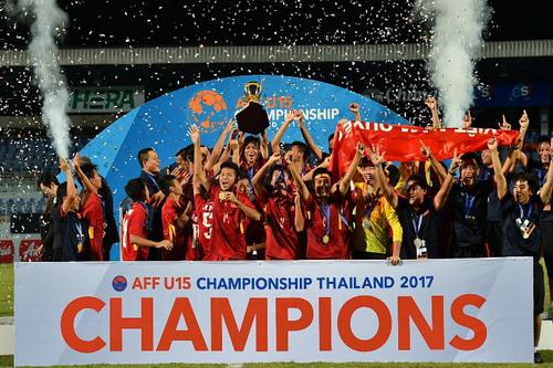Chiến tích U15, mơ tương lai bóng đá Việt - Ảnh 4.