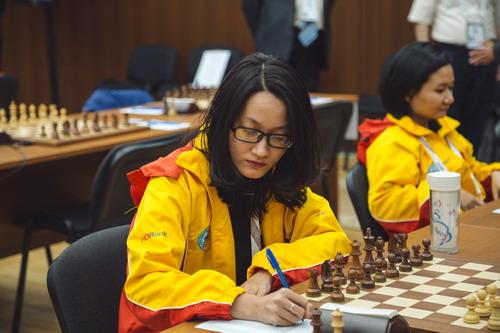 Cờ vua nữ Việt Nam thắng trận thứ nhì ở giải thế giới - Ảnh 3.