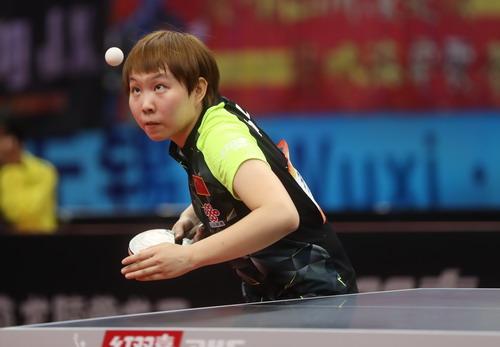 Tay vợt số 2 thế giới Zhu Yu-ling thất bại ở bán kết