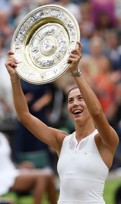 Thắng thần tốc, Muguruza lần đầu đăng quang Wimbledon - Ảnh 6.