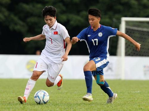 Nữ Việt Nam – Myanmar 3-1: Chiến thắng xứng đáng - Ảnh 16.