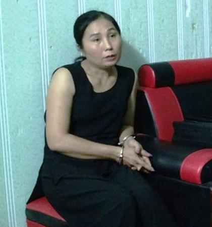 Đỗ Thị Viện bị Công an TP Ninh Bình bắt giữ và khám xét khẩn cấp nơi ở
