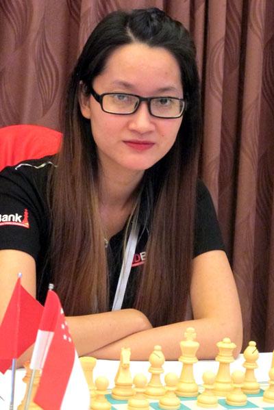 Kim Phụng giành HCV cờ vua châu Á - Ảnh 1.