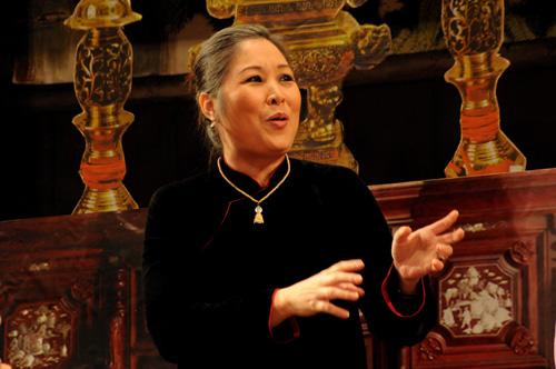 NSND Hồng Vân - Cuộc tình nghệ thuật say đắm