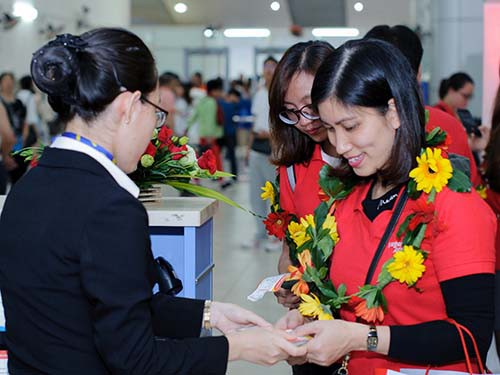 Vietjet khai trương đường bay Nha Trang - Seoul - Ảnh 1.