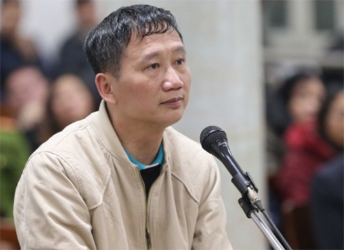 Bị cáo Trịnh Xuân Thanh xin lỗi bác Tổng Bí thư rồi òa khóc - Ảnh 1.