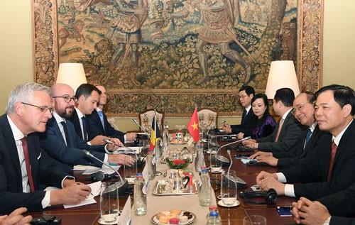 Đưa Bỉ thành đối tác hàng đầu tại EU - Ảnh 1.