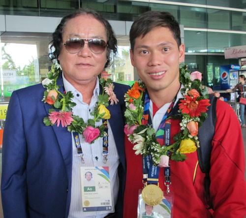 Võ Thanh Tùng giành HCV, phá kỷ lục châu Á bơi người khuyết tật - Ảnh 1.