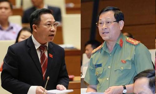 ĐB Lưu Bình Nhưỡng nói gì khi ĐB Nguyễn Hữu Cầu đề nghị đính chính phát ngôn về ngành công an? - Ảnh 1.