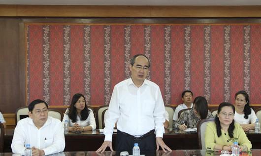 Bí thư Thành ủy Nguyễn Thiện Nhân: Năm 2019, giải quyết dứt điểm vấn đề Thủ Thiêm - Ảnh 1.