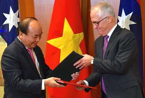 Việt Nam - Úc thiết lập Đối tác chiến lược - Ảnh 1.
