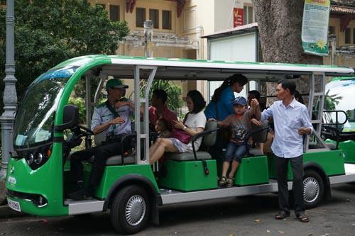Xe buýt điện chỉ tiện đi chơi! - Ảnh 1.