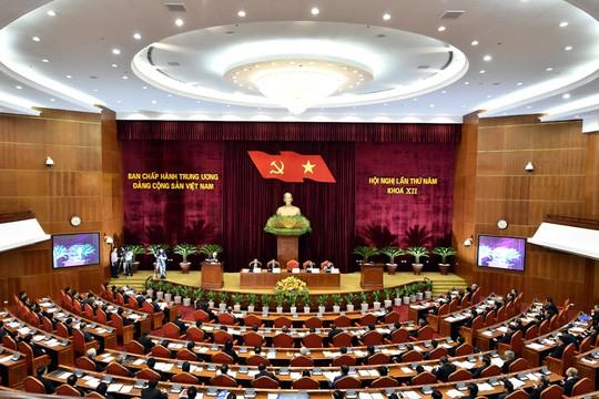 Phát biểu bế mạc Hội nghị Trung ương 7, Tổng Bí thư nhấn mạnh kiểm soát chặt công tác cán bộ - Ảnh 2.