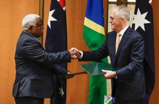 Ký thỏa thuận với Úc, quần đảo Solomon bỏ rơi tập đoàn Trung Quốc - Ảnh 1.