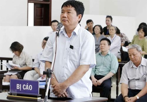Ông Đinh La Thăng nói lời sau cùng: Tôi không có tội - Ảnh 1.