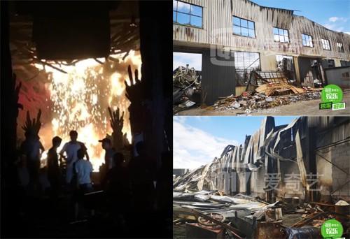 Cháy dữ dội ở phim trường Hoành Điếm, ít nhất 2 người chết - Ảnh 3.