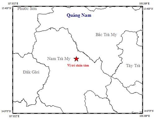 Xảy ra 3 trận động đất liên tiếp tại Quảng Nam và Sơn La - Ảnh 1.