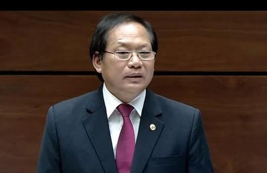 Tạm đình chỉ công tác Bộ trưởng với ông Trương Minh Tuấn - Ảnh 1.