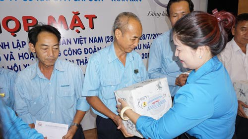 SAMCO gây quỹ hỗ trợ công nhân khó khăn - Ảnh 1.