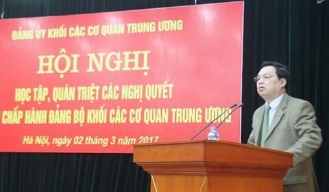 Trao quyết định nhân sự của Ban Bí thư Trung ương Đảng - Ảnh 1.