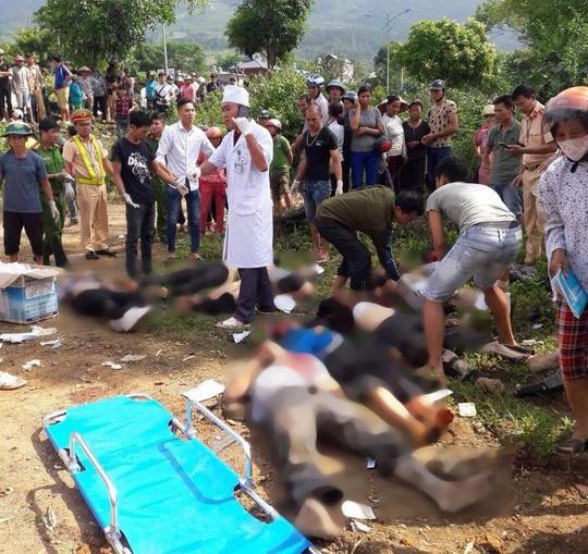 Vụ tai nạn thảm khốc 13 người chết: Xe bồn có lúc chạy 109 km/giờ - Ảnh 1.