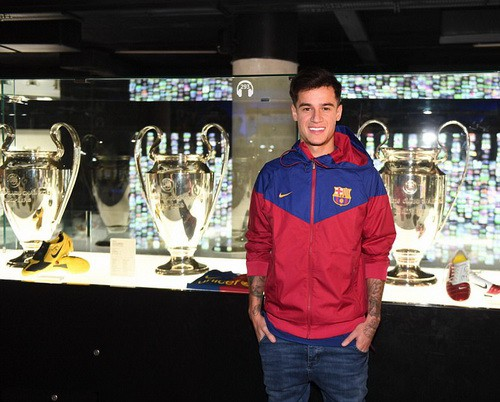 Thương binh Coutinho chào sân hợp đồng bom tấn tại Barcelona - Ảnh 9.
