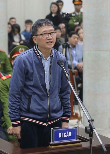 Những lời khai đầu tiên của ông Đinh La Thăng trước tòa - Ảnh 1.