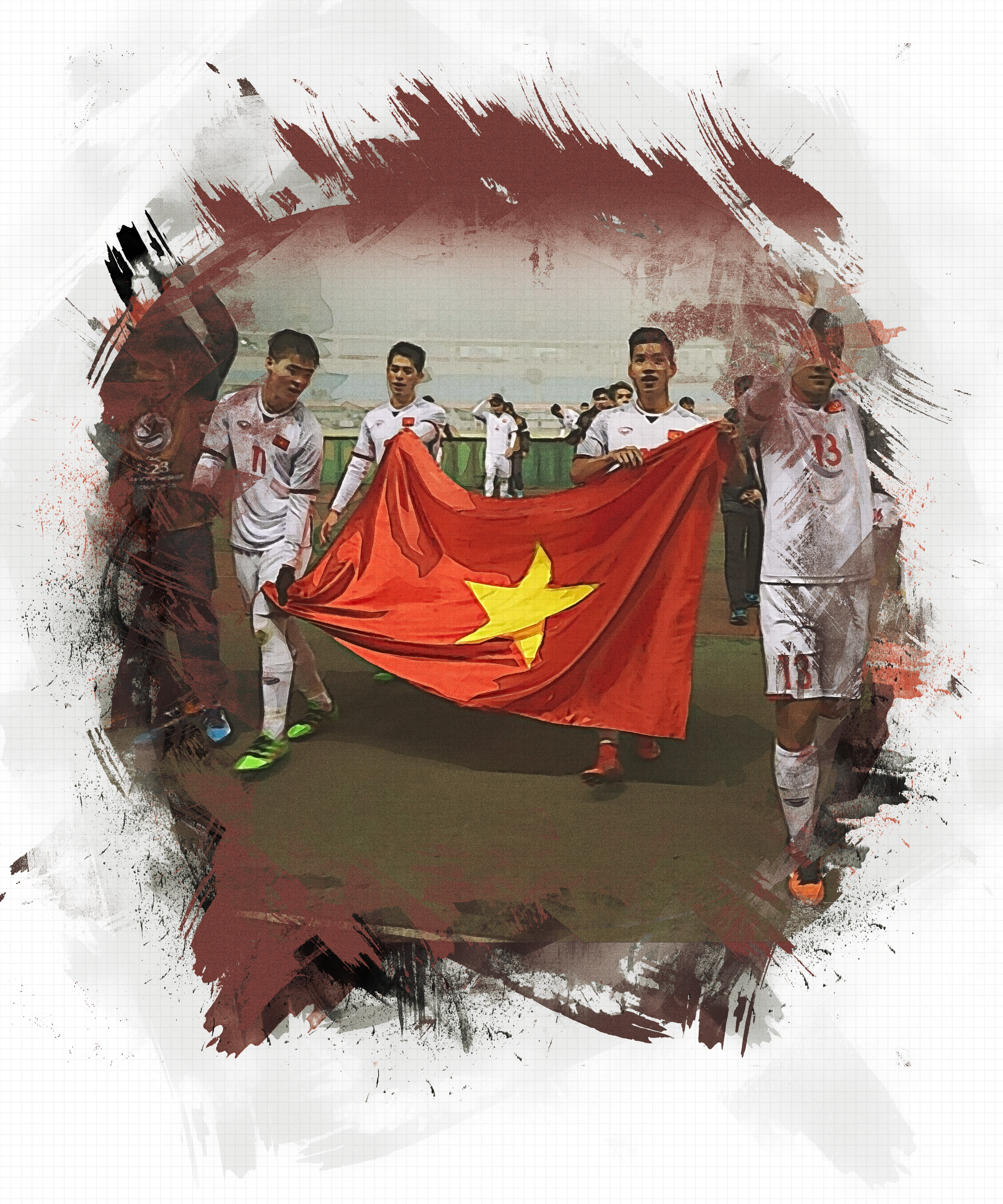 (eMagazine) - Hành trình vào bán kết cúp châu Á của tuyển U23 Việt Nam - Ảnh 10.