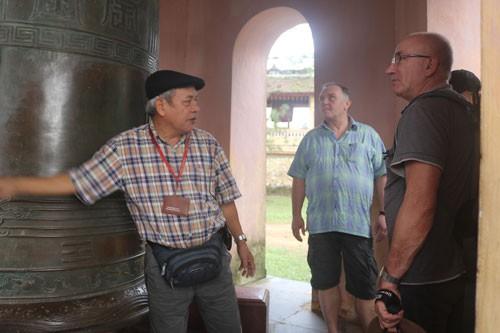 Bí ẩn bảo vật, di sản quốc gia: Đại hồng chung chùa Thiên Mụ - Ảnh 1.