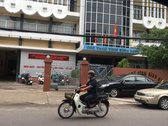 Giáng chức Cục trưởng Cục Thuế tỉnh Bình Định - Ảnh 1.