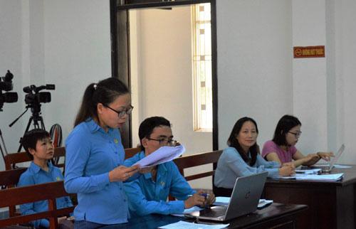 Đà Nẵng: Đòi tiền lương, BHXH cho 196 công nhân - Ảnh 1.