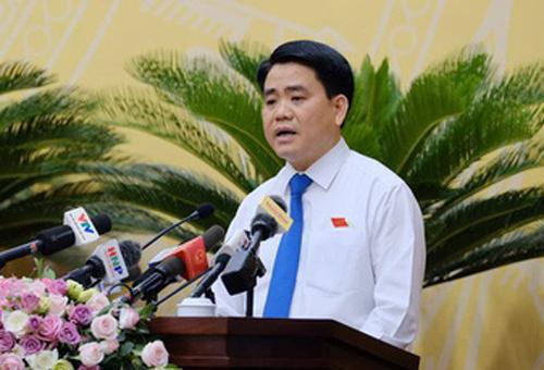 Chủ tịch Hà Nội nói về trách nhiệm trong vụ nước sông Đà nhiễm dầu thải - Ảnh 1.